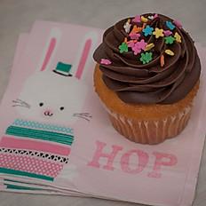 Vanilla Cupcake w/Chocolate Frosting