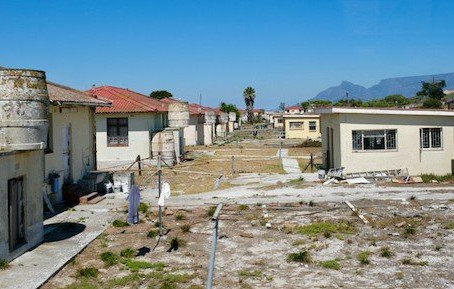 Robben Island is showing signs of decay