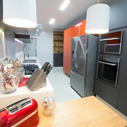 Design de Interiores - Cozinha Cobertura MG
