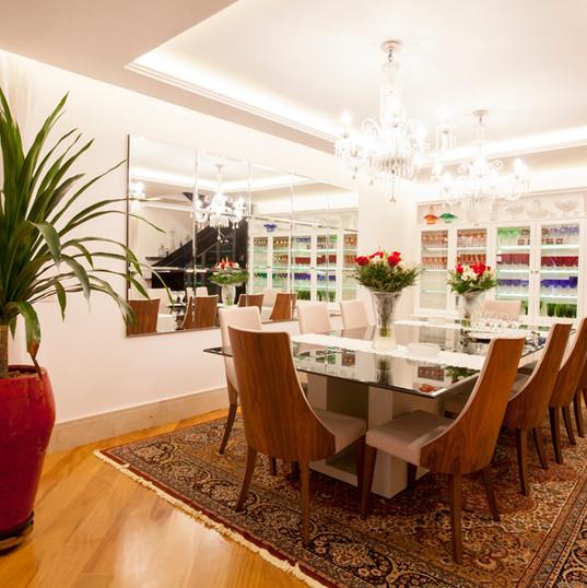 Design de Interiores MR- Sala Jantar Cobertura