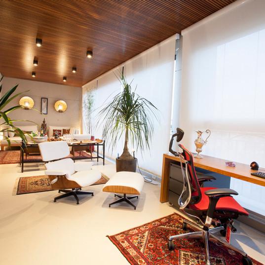 Design de Interiores - Varanda Apartamento Cobertura MR
