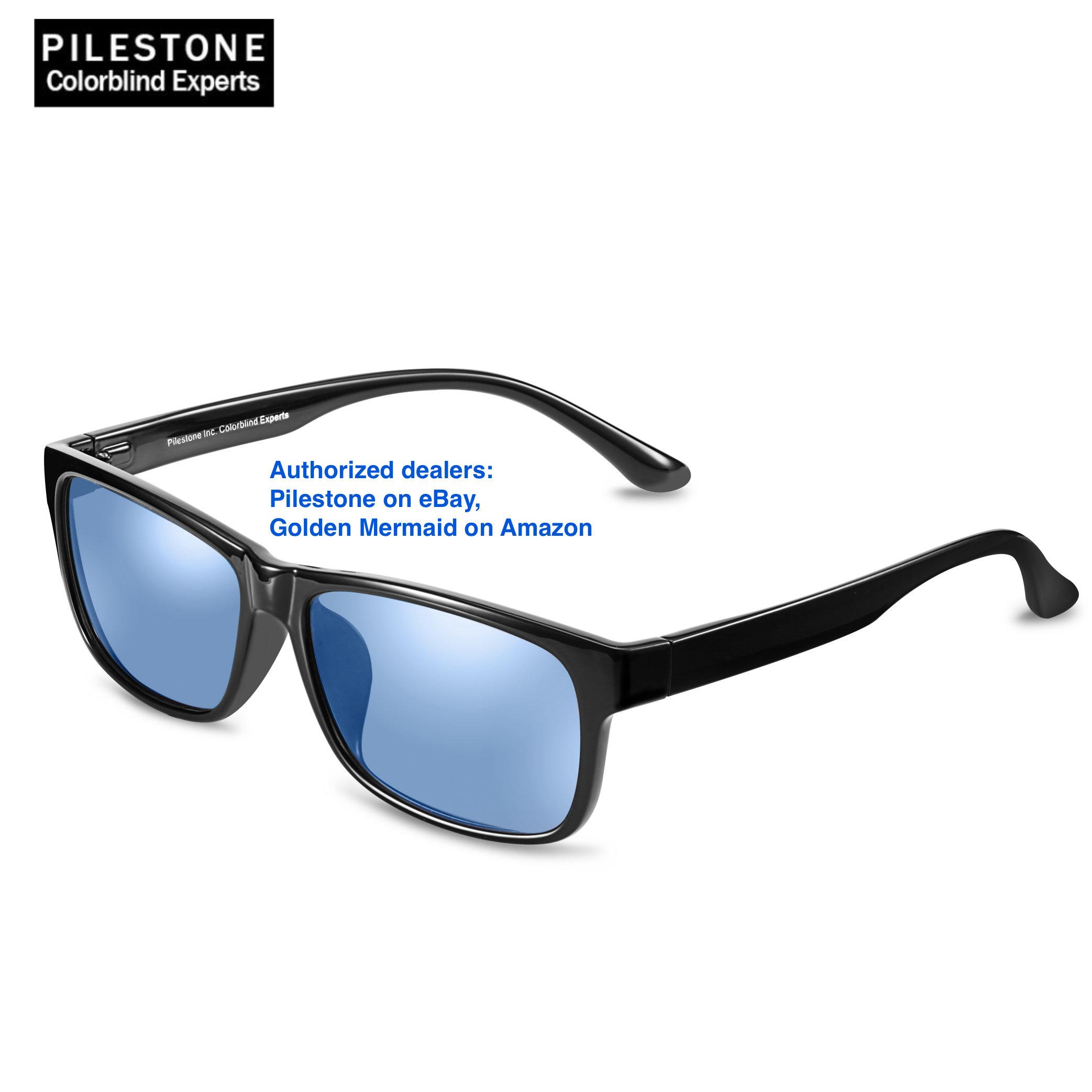 b031e2b672 Pilestone TP-020 Color Blind Corrective Glasses for Color Blindness
