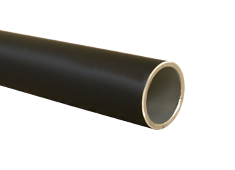 5000mm / 16.40ft Aluminium Tube Black
