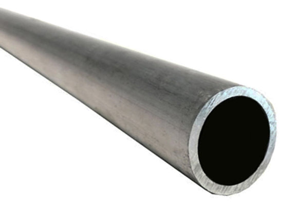2500mm / 8.20ft Aluminium Tube Silver