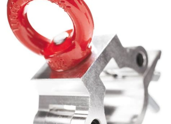 Aluminium Half Coupler With Eyelet