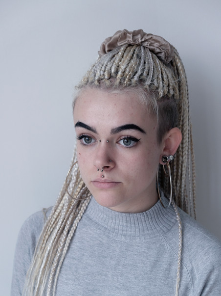 Chloe, 21.  Body Piercer.  From Haverfordwest, Wales.