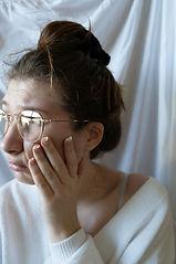 natural portrait stressed art, conceptual, photograph