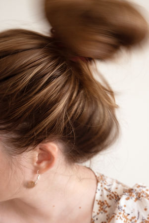 hair, spin, blonde, jewellery, art, conceptual, photograph