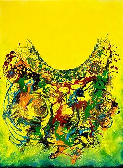 peinture painting levitation