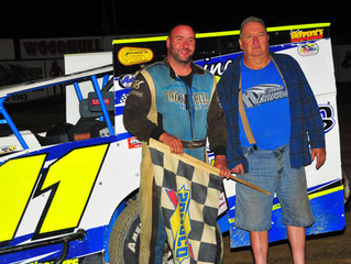 Insinger Performance, Sunoco Race Fuels, American Racer Tires Return To Woodhull In 2019
