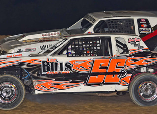 Dennis, Baker, and McClain Extend Points Lead with Wins At Woodhull Raceway