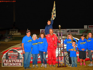Whritenour Victorious At The 'Steve Kent Memorial 100' At Woodhull Raceway