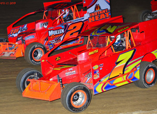 Van Pelt Scores First Win Of The Season at Woodhull Raceway