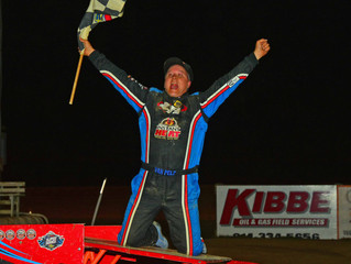 Van Pelt Wins Sixth Consecutive Lyle Sherwood Memorial At Woodhull Raceway