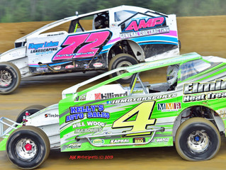 Crate Sportsman 'King of the Bullring' Slated For This Saturday at Woodhull Raceway