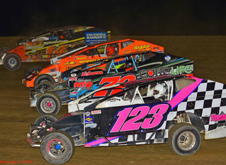 Alfred State College and Kickin' Country 105.3FM Present 30-lap Crate Sportsman at Woodhull Raceway