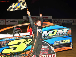 Kaiden Dgien Gets First Crate Sportsman Win At Woodhull Raceway