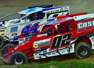Costa and Costley Clinch First Season Victory At Woodhull Raceway