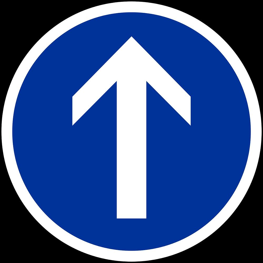 Panneau de circulation autorisée