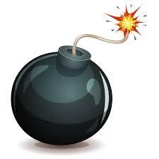 Image d'une bombe amorcée