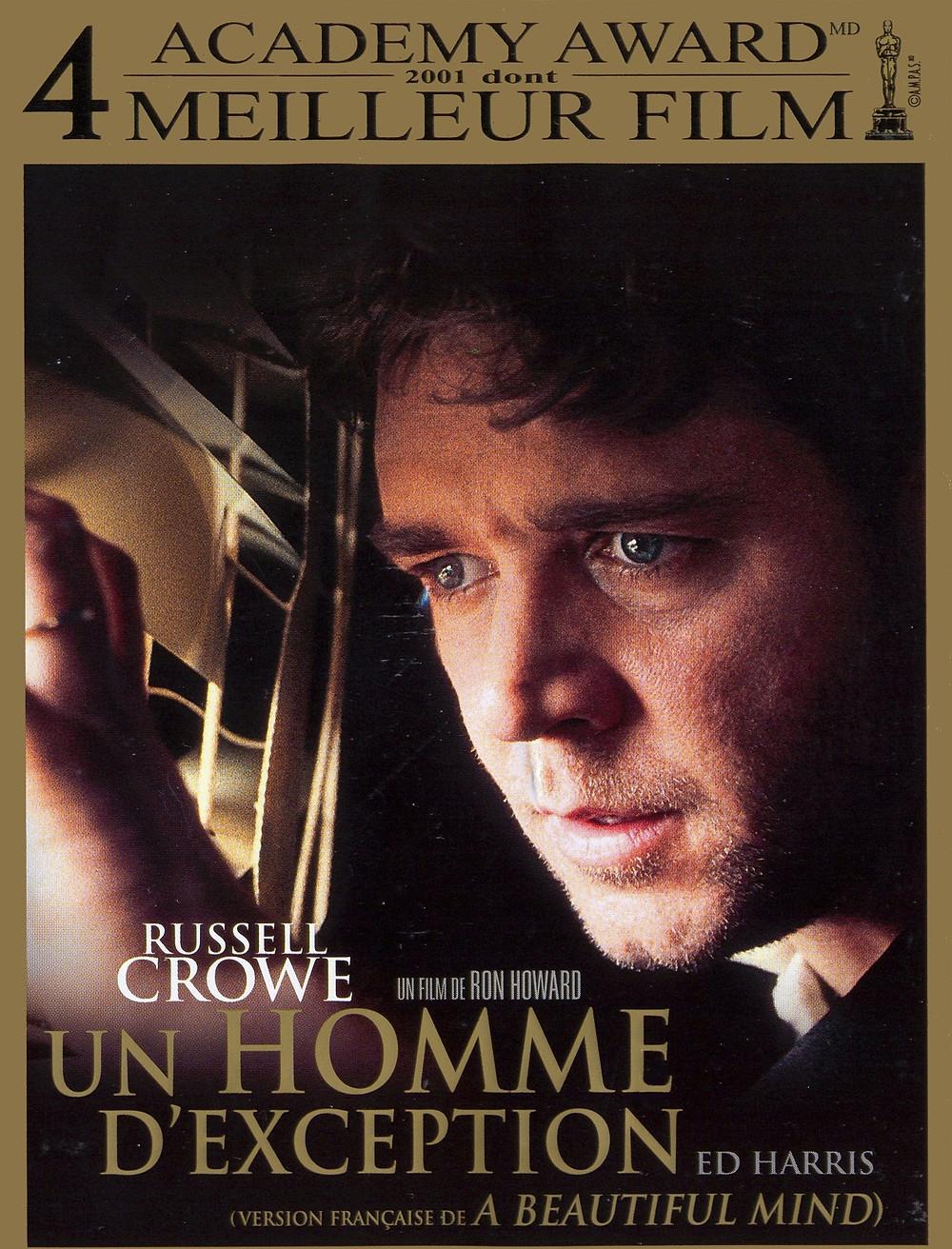 """Affiche du film """"Un homme d'exception"""" avec Russel Crowe"""
