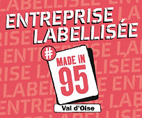 Label made in 95