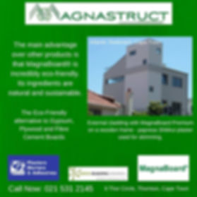 Magnastruct, eco-friendly