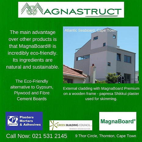 Magnastruct, eco-friendly