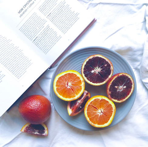Quick Citrus Salad with Five Spice Honey