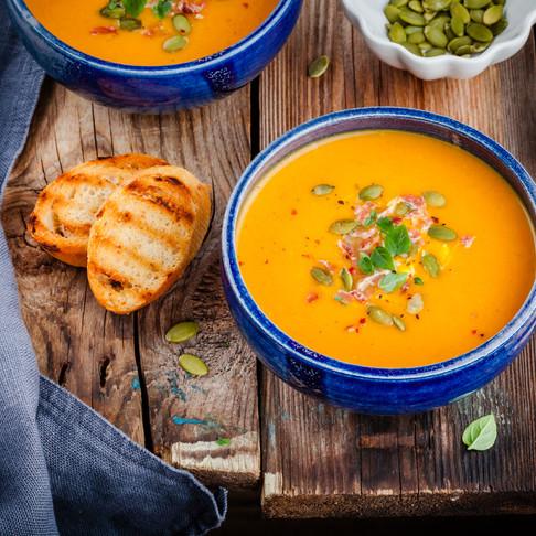 Butternut& Pumpkin Soup