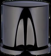 Polished Black chrome*