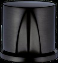 Brushed black chrome*