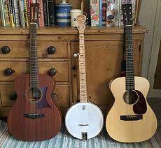 Tanglewood Monkman guitars Deering banjo