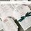 Thumbnail: Hochzeitseinladung fünfteilig (StD, Einladung; Antwortkarte und -kuvert & Dankes