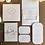 Thumbnail: Hochzeitseinladung dreiteilig (StD, Einladungskarte, Dankeskarte)