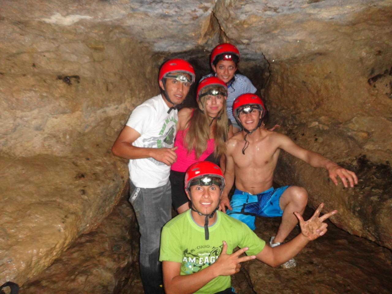 aventura en cavernas