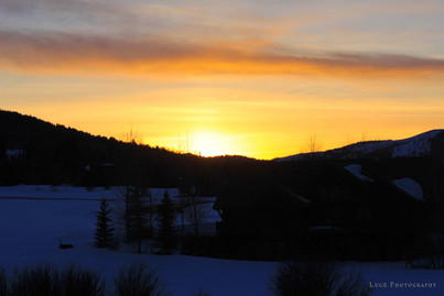 Sunset from Eagles Nest