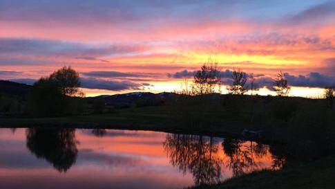 Eagles Landing's Sunset View