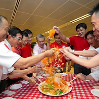 CNY Day 1 appreciation event at Changi Airport