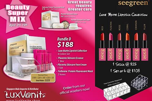 Beauty SuperMix Bundle D