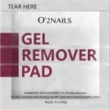O'2NAILS.Gel Remover Pad