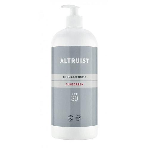 Altruist Sunscreen SPF30 – 1 Litre bottle