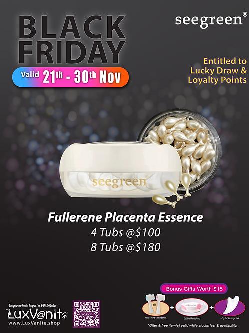 Fullerene Placenta Skincare Essence
