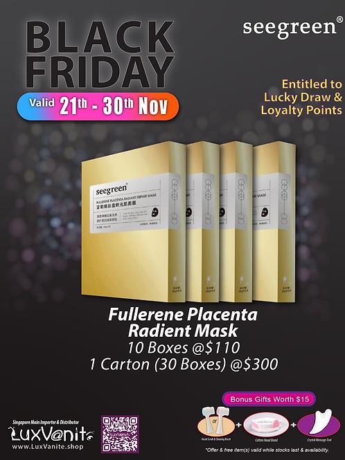 Fullerene Placenta Radiant Repair Mask