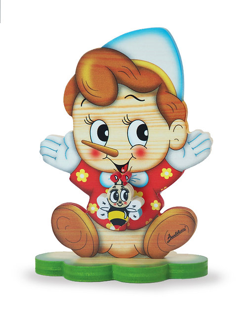 "Muziekdoosje staand ""Pinokkio"" (klein)"