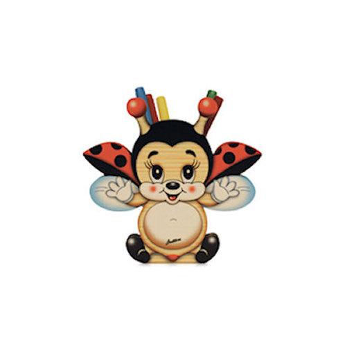 Grote pennenhouder vliegend Lieveheersbeestje