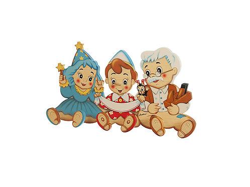 Kapstok Pinokkio, Opa en de Fee