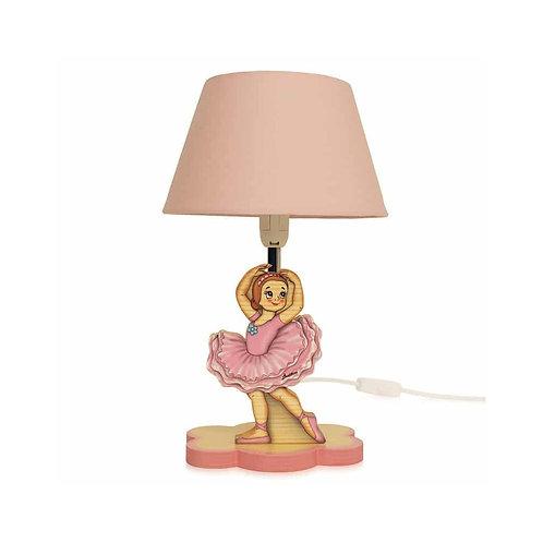 Houten Lamp Ballerina