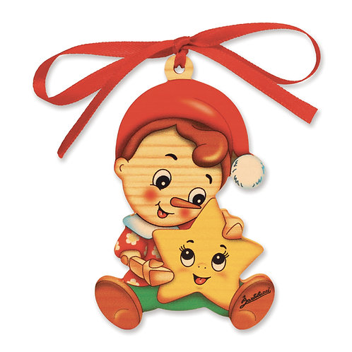 Pinocchio Kerstmis ornament - Ster