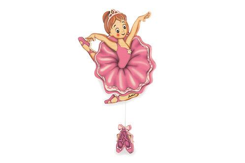 Klassieke ballerina Wandspeeldoos (standaard)